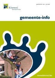 Gemeente-info (2009-3) - Gemeente Kinrooi