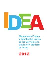 IDEA Manual 2012 en Español - Disability Rights Texas