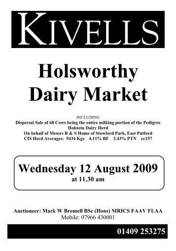 Holsworthy Dairy Market - Kivells
