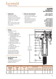 Nexans Euromold 430TB Compact Separable ... - Cablejoints.co.uk