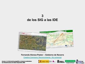 De los SIG a las IDE - Gbif.es