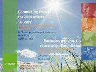 Connecting People for Zero Waste Success Relier les gens vers la ...