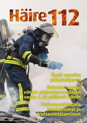 Haire112 1/2011 - Päästeamet