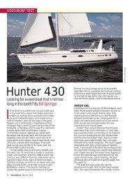 Hunter 430 - Sail Magazine