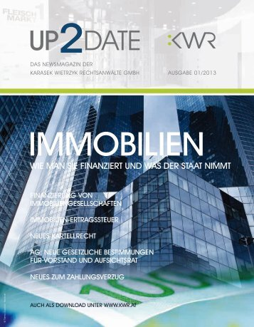 Up to date nr 01/2013 - KWR
