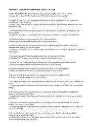 Themen für Diplom-/Masterarbeiten Prof. Kayal, 17.07.2008 1 ...