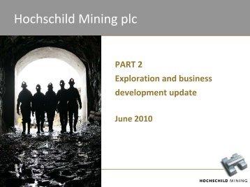 PDF (10775KB) - Hochschild Mining plc