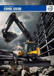 Brochure ECR145D and ECR235D - Volvo Construction Equipment