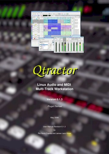 Qtractor - An Audio/MIDI multi-track sequencer - rncbc.org
