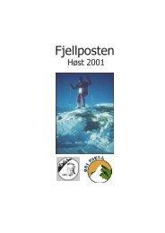 Høst 2001 - OSI Fjell