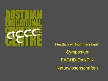 Fachdidaktik - AECC-Bio - Universität Wien