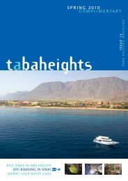 SPRING 2010 COMPLIMENTARY - Taba Heights Magazine