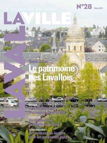 Le patrimoine des Lavallois