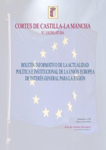 Número: 139 Área de Asuntos Europeos