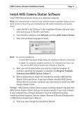 AXIS Camera Station Installation Guide - Axis Communications - Page 5
