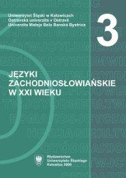 Untitled - Śląska Biblioteka Cyfrowa