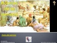 Adonías no se sometió - Iglesia Biblica Bautista de Aguadilla, Puerto ...