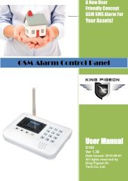 GSM Alarm Control Panel