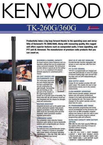 TK-260G-360G.pdf - Kenwood
