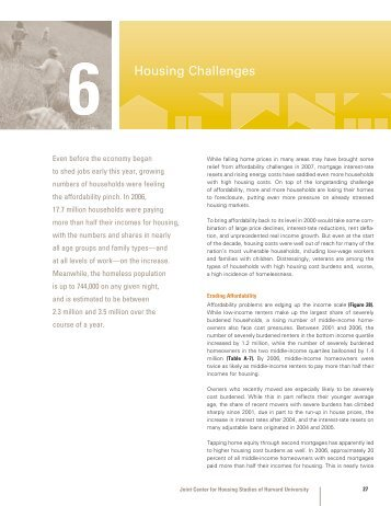 Housing Challenges - Joint Center for Housing Studies - Harvard ...