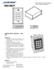 Digital Entry System – DK- 16 - SmartHome-Products