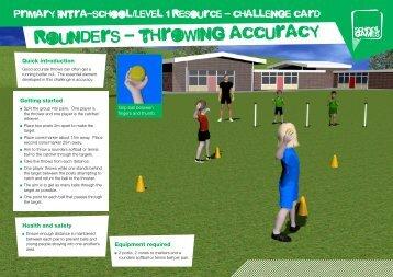 Rounders Challenge - School Games