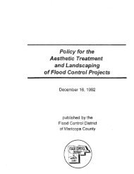 FCDMC Aesthetic Treatment Policy - Flood Control District of ...