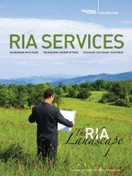 Landscape - Financial Planning