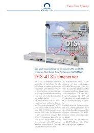 800720.02_DTS 4135.timeserver.indd - MOBATIME Swiss Time ...