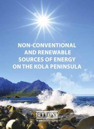 non-conventional and renewable sources of energy on the ... - Bellona