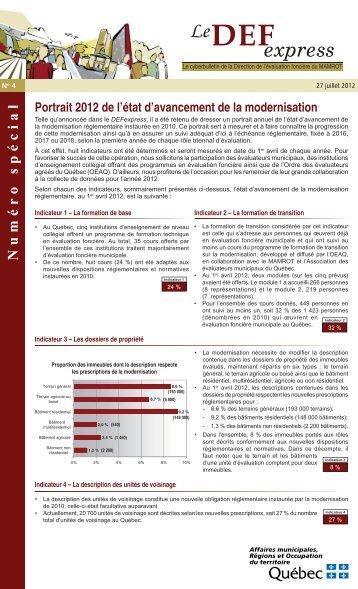 Le DEFexpress numéro 4, 27 juillet 2012