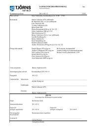 Kommunstyrelsens protokoll 2011-05-12 - Tjörns kommun