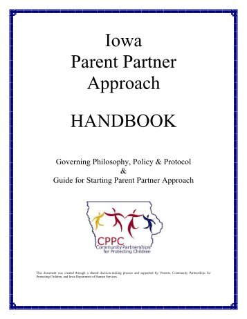Iowa Parent Partner Approach HANDBOOK - Iowa Department of ...
