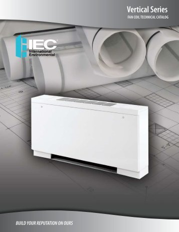 Vertical Series Technical Catalog - IEC International Environmental