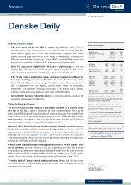 Danske Daily - Danske Bank