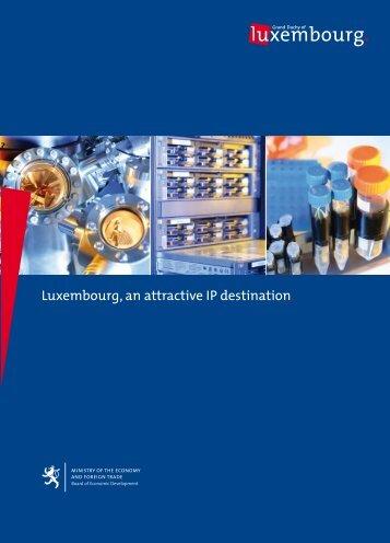 Luxembourg's IP legislation - Etat