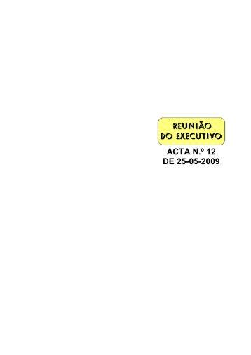 Acta 2009-05-25 Câmara Municipal 012.pdf - Câmara Municipal de ...
