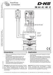 IM 44-E - D+H Mechatronic