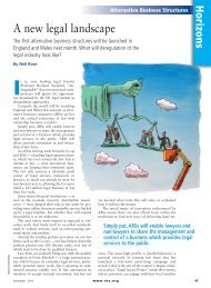 A new legal landscape - Creativity in the legal practice