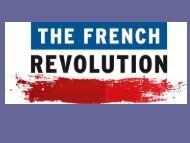 French Revolution quick notes