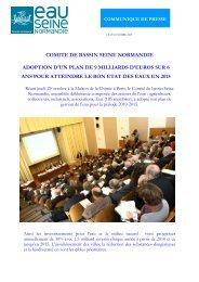 CP POST - Agence de l'Eau Seine Normandie