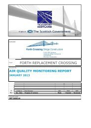 Contract (FCBC)- Air Quality Monitoring Report- January 2013