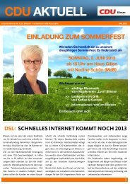 CDUaktuell Ausgabe Mai 2013 als PDF-Dokument - Cdu-bliesen.de