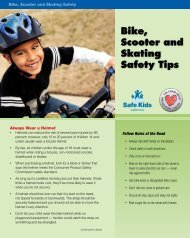 Bike Safety - The Child Abuse Prevention Center