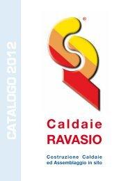 CATALOGO 2012 Caldaie RAVASIO - Certificazione energetica edifici