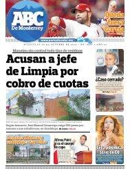 Acusan a jefe de Limpia por cobro de cuotas - Periodicoabc.mx