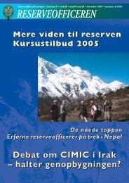 reserveofficeren - Hovedorganisationen for Personel af Reserven i ...