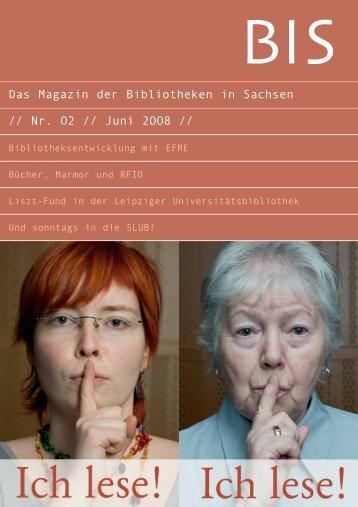 Schon - Das Magazin der Bibliotheken in Sachsen