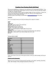 Creating Your Fontana North Sell Sheet