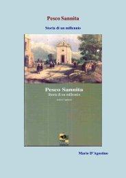Mario d'Agostino – Pesco Sannita Storia di un millennio - Vesuvioweb